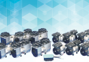 Oil-less diaphrgm vacuum pumps